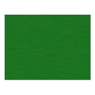 Grüne Holzmaserung Postkarte