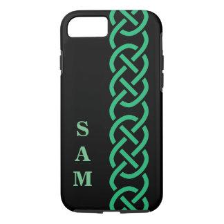 Grüne keltische Knoten iPhone 8/7 Hülle