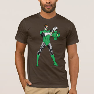 Grüne Laterne mit Laterne T-Shirt