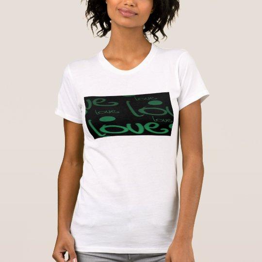 Grüne Liebe T-Shirt