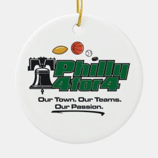 Grüne Logo-Verzierung Keramik Ornament