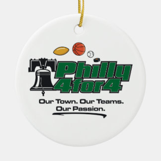 Grüne Logo-Verzierung Rundes Keramik Ornament