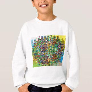 GRÜNE MarmorKaros: Grafische Schaffung Sweatshirt