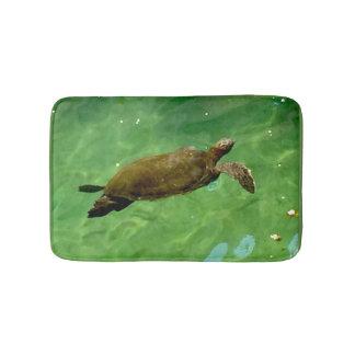 Grüne Meeresschildkröte Badematte