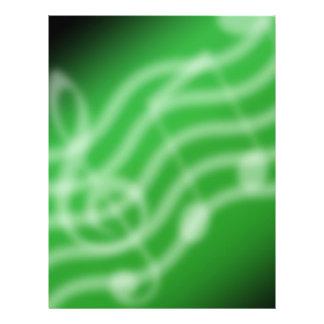 Grüne Musik 21,6 X 27,9 Cm Flyer