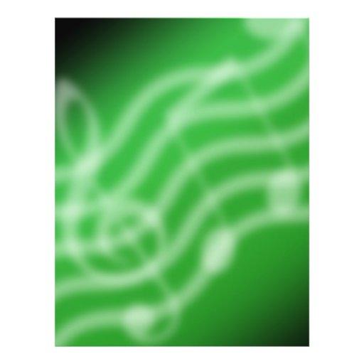 Grüne Musik Flyers