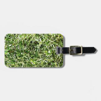 Grüne Natur treibt natürliche natürliche grüne Bäu Kofferanhänger