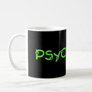 Grüne Psychologie-Tasse in den Herzen Tasse