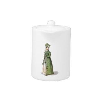 Grüne Regentschafts-Dame