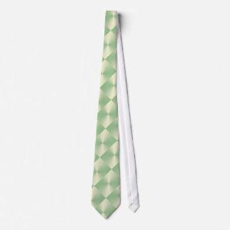 Grüne Schimmer-Blöcke Individuelle Krawatten