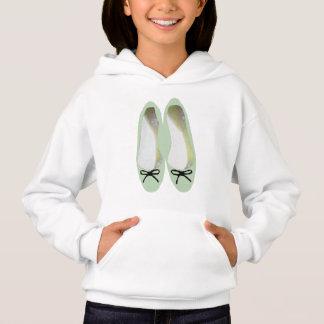 Grüne Schuhe Hoodie