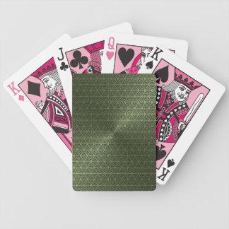 Grüne Spielkarten