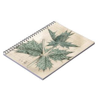 Grüne Stechpalme Notizblock