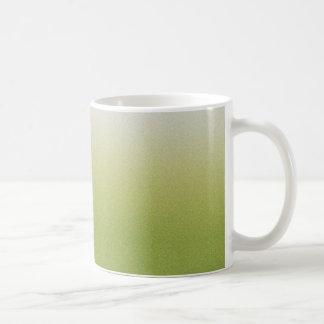 Grüne Steigung Kaffeetasse