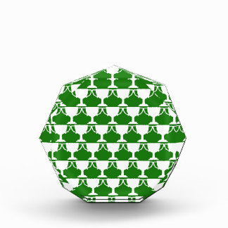 Grüne viktorianische Spitze Auszeichnung
