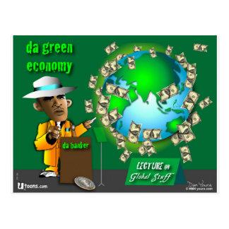 grüne Wirtschaft DA Postkarte