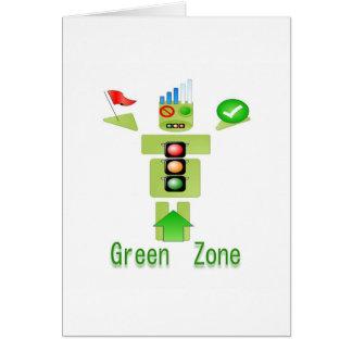 GRÜNE Zone Energiesparend nur Karte