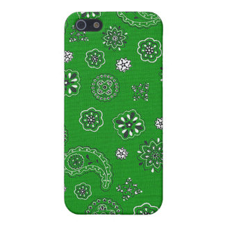 Grüner Bandana iPhone Kasten Etui Fürs iPhone 5