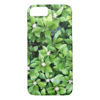 Grüner Blatt iPhone Kasten iPhone 7 Hülle