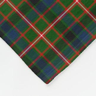 Grüner, blauer und roter Reid-ClanTartan Fleecedecke