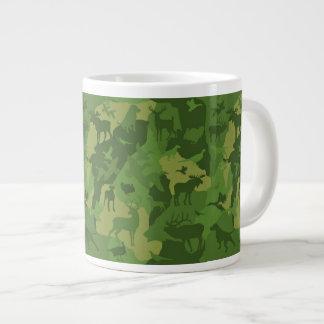Grüner cammo/camoflauge/deer/elk/moose/hunting Jumbo-Tasse