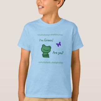 Grüner die Umwelt-T - Shirt der niedliche