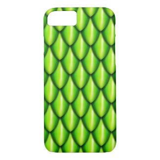 Grüner Drache-Skala-Telefon-Kasten iPhone 7 Hülle