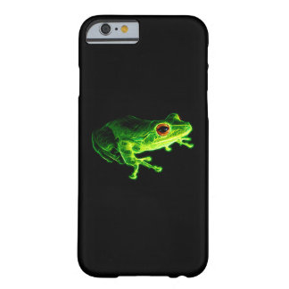 Grüner Frosch Barely There iPhone 6 Hülle