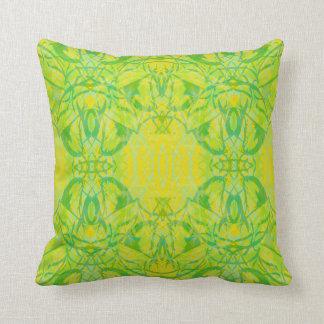 grüner Kissen
