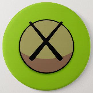 Grüner Kreis Runder Button 15,3 Cm