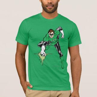 Grüner Laternen-Kampf T-Shirt