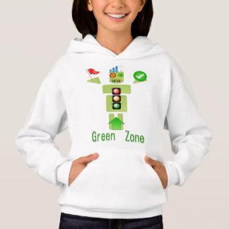 GRÜNER Meister:   Hoodie-mit Kapuze Sweatshirt