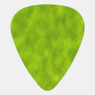 Grüner Nebel/Dunst/Nebel Ähnliches Muster-Plektrum Gitarren-Pick