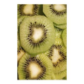 Grüner neuer Kiwi-Entwurf Briefpapier