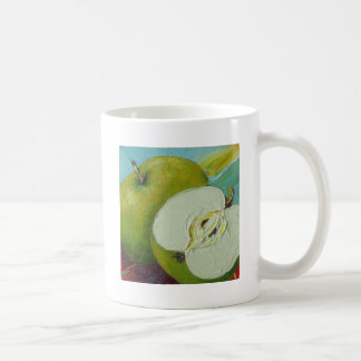 Grüner Oma-Smith Apple Kaffeetasse
