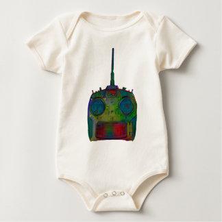 Grüner Radio /Red/Blue Spektrum RC der negativen Baby Strampler