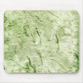 Grüner Textilentwurf Mousepad