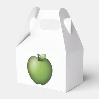 Grünes Apple - Emoji Geschenkschachtel