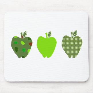 Grünes Apple Mousepad