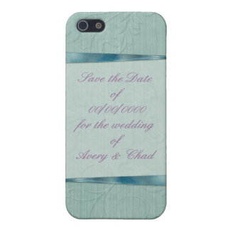 Grünes Band Save the Date iPhone 5 Case