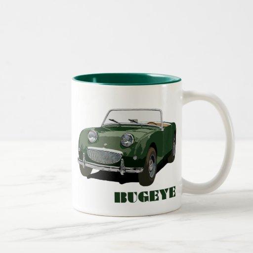 Grünes Bugeye Tee Haferl