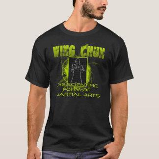 Grünes Flügel Chun Wissenschafts- und Kunst-Shirt T-Shirt