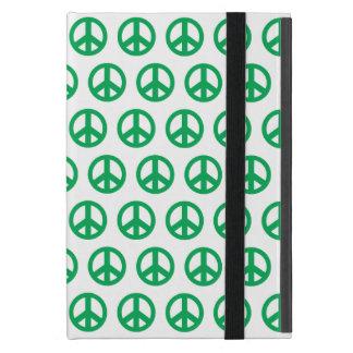 Grünes Friedenszeichen iPad Mini Hülle
