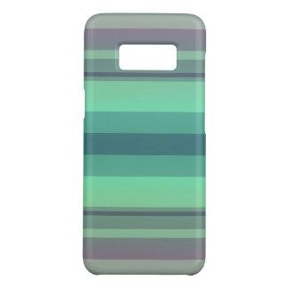 Grünes gestreiftes weiches schneidenSamsung Case-Mate Samsung Galaxy S8 Hülle