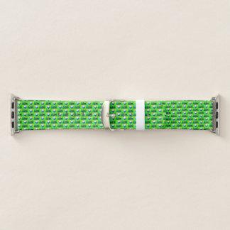 Grünes Golf-Muster-Apple-Uhrenarmband Apple Watch Armband