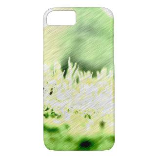 Grünes Gras-Farbluke iPhone 7 Hülle