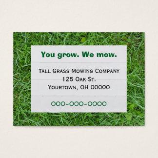 Grünes Gras Visitenkarte