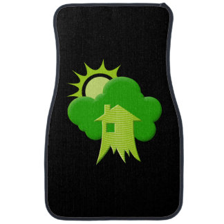 Grünes Haus Autofußmatte