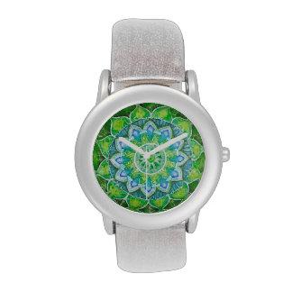 Grünes Herz chakra, Liebe, Mitleid, Verzeihen Uhren