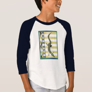 grünes Krokodil 39 T-Shirt